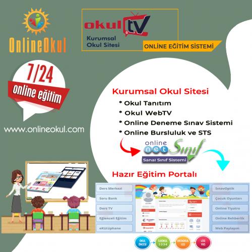 Kurumsal OkulTV Eğitim Sistemi